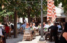 Spanish Restaurant in London - Spanish Food Tapas and Wine - Iberica La Terraza in Canary Wharf Spanish Cuisine, Spanish Tapas, Spanish Food, Sangria, Tapas Restaurant, Retail Solutions, Signature Cocktail, Al Fresco Dining, Bar