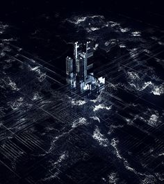 Michael Rigley: Zero Days VR Cyber Warfare, Model Site, Zero Days, Depth Of Field, Future City, Macro Shots, Visual Effects, Motion Design, Design Reference