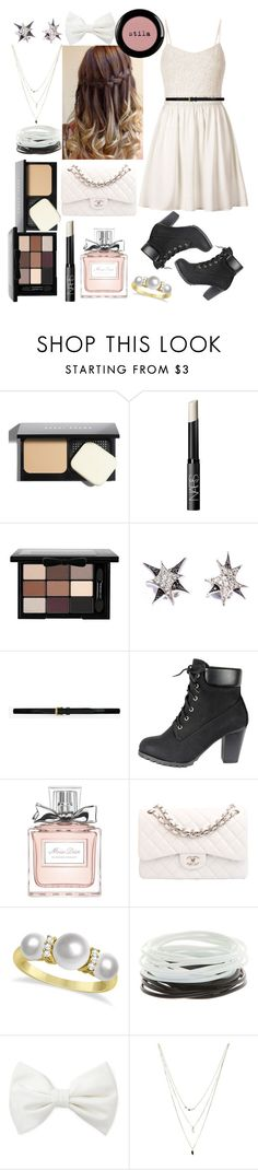 """""""#Sem Título ⇧"""" by haroldamore ❤ liked on Polyvore featuring Bobbi Brown Cosmetics, NARS Cosmetics, NYX, Stephen Webster, H&M, Yves Saint Laurent, Christian Dior, Chanel, Allurez and Forever 21"""