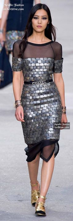 Chanel (just trying to figure out how to integrate old hollywood glamour with more modern metallics)