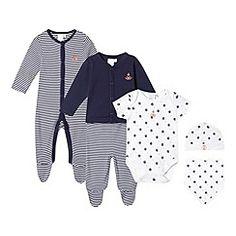 J by Jasper Conran - Designer babies navy six piece set