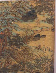 By Li Sixun of Tang Dynasty