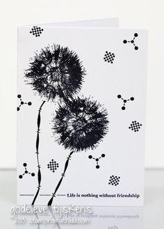StampingMathilda: Black  White - 165