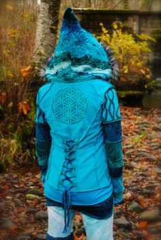 Pixie Coat Sacred Geometry Gypsy Jacket by IntergalacticApparel, $344.00