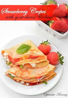 Strawberry Crepes wi