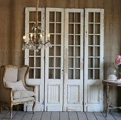 repurposed old doors by Gem Estolas