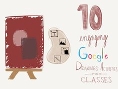 Sometimes, a linear document just won't do. Students need room to move things around and get messy. Here are 10 Google Drawings activities to do that.