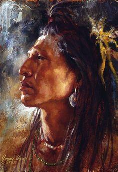 Unbreakable Spirit, Blackfeet - by James Ayers