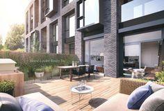 35 Wabash - Maziar Moini Broker Home Leader Realty Inc. Condos For Rent, Condos For Sale, Townhouse Exterior, Toronto Condo, New Condo, Backyard, Patio, Real Estate Broker, Terrace