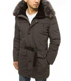 Zimná šedá pánska párka bunda s kapucňou Canada Goose Jackets, Parka, Winter Jackets, Fashion, Winter Coats, Moda, Winter Vest Outfits, Fashion Styles, Fashion Illustrations