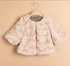 Fur Over Jacket for Girls #jacket #pink