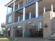 Amzee Bokmakierie Guest House a treasure located on the outskirts of Dana Bay with breath-taking views Pergola, Scenery, Multi Story Building, Outdoor Structures, South Africa, Places, Outdoor Decor, Cape, House