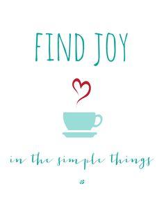 Find Joy Free Printable Wall Art