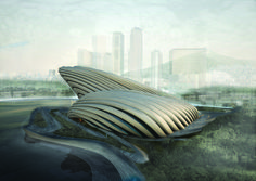 Gallery Of Dalian Shell Museum / The Design Institute Of Civil Engineering  U0026 Architecture Of DUT   5 | Civil Engineering, Roof Plan And Shell