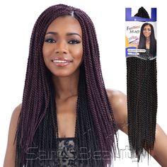 FreeTress Synthetic Hair Crochet Braids Senegalese Twist Small - Samsbeauty
