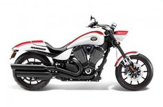 2012 Victory Motorcycles Hammer® S - Fireball Red & White Lightning w/ Graphics starting at $18,499 Northway Sports East Bethel, MN (763) 413-8988