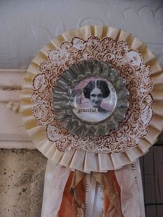repurposed trophy ribbon
