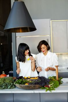 Athena Calderone of Eye Swoon and Laila Gohar of Sunday's Supper share a delicious veggie recipe, plus read their interview.