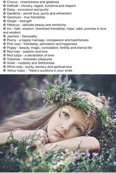 Flowers in your hair page 2 Wicca, Magick, Witchcraft, Beauty Spells, Chivalry, Secret Love, Happy Marriage, Book Of Shadows, Geraniums