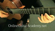 """Camille Saint-Saëns - """"The Swan,"""" (Le Cygne) for classical guitar, from ..."""