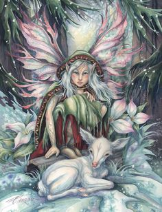 Winter Fairy Artist: Jody Bergsma