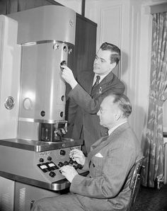April 20, 1940: Vladimir Zworykin, better known as a co-inventor of television, demonstrates the first electron microscope in the United States.