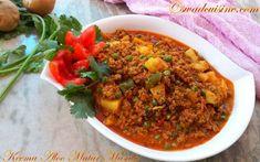World Recipes, Veg Recipes, Indian Food Recipes, Gourmet Recipes, Asian Recipes, Healthy Recipes, Ethnic Recipes, Indian Mutton Recipes, Aloo Matar Recipe