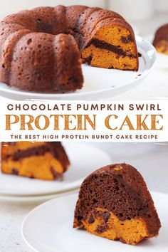 High Protein Desserts, Protein Cake, Best Protein, Protein Powder Recipes, Macro Meals, Fall Desserts, Other Recipes, Pumpkin Spice, Chocolate Cake