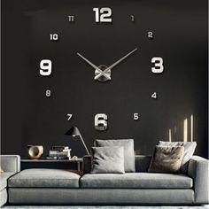 Encontrar Más Relojes de Pared Información acerca de 2016 nuevo reloj de pared relojes del reloj Horloge Murale Diy 3d acrílico espejo casa grande cuarzo ag Circular Modern envío gratis, alta calidad regalos de cristalería, China regalos de la familia Proveedores, barato regalos traviesos de DIY Time Life en Aliexpress.com
