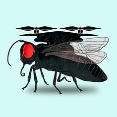 Tiny Drones That Navigate with Insect Eyes | A tiny, biologically inspired motion sensor could help small drones avoid collisions as they buzz around. [The Future of Drones: http://futuristicnews.com/tag/drone/ Drones for Sale: http://futuristicshop.com/tag/drone/]