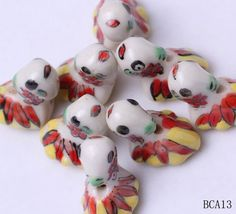 22x15mm Porcelain Charms Golden Fish Jewelry Necklaces Making Findings Beads http://www.eozy.com/22x15mm-porcelain-charms-golden-fish-jewelry-necklaces-making-findings-beads.html