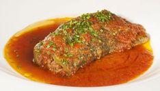 Receta de Pimientos verdes rellenos de carne con tomate