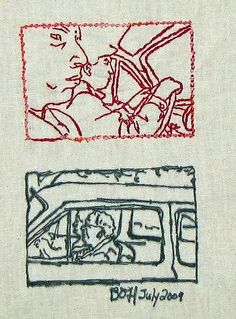 Embroider a vacation photo