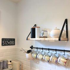 Decoration, Track Lighting, Shelves, Ceiling Lights, Organization Ideas, Home Decor, Before After Kitchen, Kitchen Rails, Ikea Crates