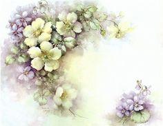 Цветочная нежность | Sonie Ames | Картинки для декупажа. Обсуждение на LiveInternet - Российский Сервис Онлайн-Дневников