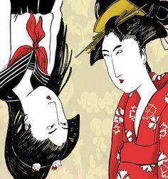 Garbiñe Martiarena Ilustración: Ilustraciones con temática japonesa