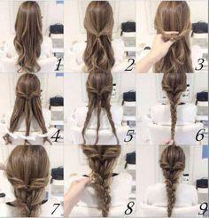 13 Step by Step Hair Tutorials to Style a Mermaid Braid , #Kapsels, #haarzelfstudies