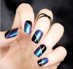 Top 80 Trendy Gel Nail 2018 You Must Try#trendynail #nails #nailedit #naillon, french manicure designs, wedding manicure, simple nail art designs,best simple nail art,opi nail polish colors.