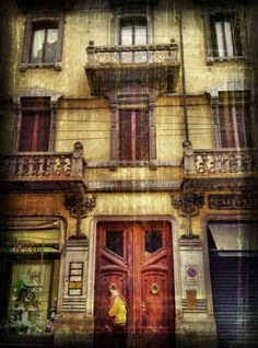 This is a house in Torino. This has been shot with my iPhone 4s.    The app used to shot the image was Pro HDR, cropping and adjustments were done using Snapseed, further editing was done using Dynamic Light,  Pic Grunger and PhotoToaster.