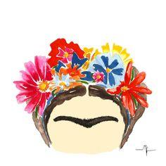 frida kahlo ilustração - Pesquisa Google
