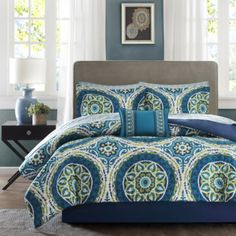 jcp | Madison Park Essentials Odisha Medallion Complete Bedding Set with Sheets