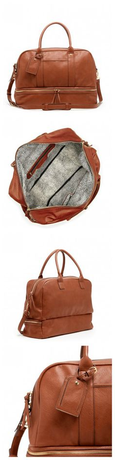 Sole Society Mason Bag - Weekender - Weekeng Luggage - Leather