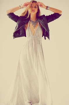 YES! I want THIS dress! And what the hell! Let's throw in the jacket too! Maybe some hot moto boots with them?!
