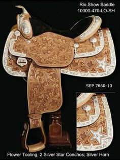 Love the saddle and the Texas Star!!