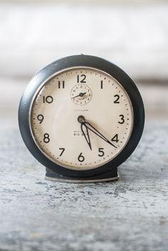 Big Ben Black Metal Alarm Clock #2