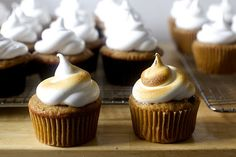 s'more cupcakes | smitten kitchen #thanksgiving #dessert