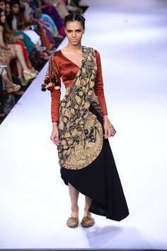 Lakme Fashion Week, Designer Collection, Festive, Sari, Winter, Saree, Winter Time, Saris