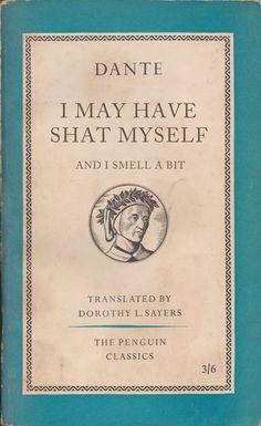 The Divine Comedy by Dante, Penguin Classics Lol, Haha Funny, Funny Memes, Funny Shit, Funny Stuff, Hilarious, Ladybird Books, Penguin Classics, Book Memes