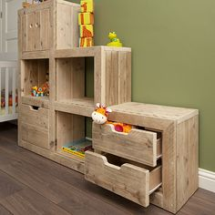 kinderkamers Diy Interior, Interior Styling, Play Corner, Kids Play Kitchen, Kids Storage, Reading Nook, Kid Spaces, Kids Playing, Wood Projects