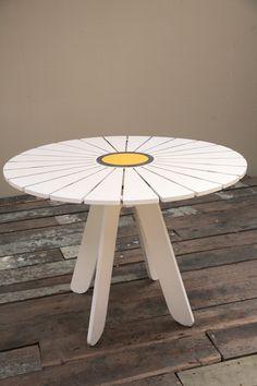 Alvar Aalto; 'Sunflower' Table for Artek, c1938.